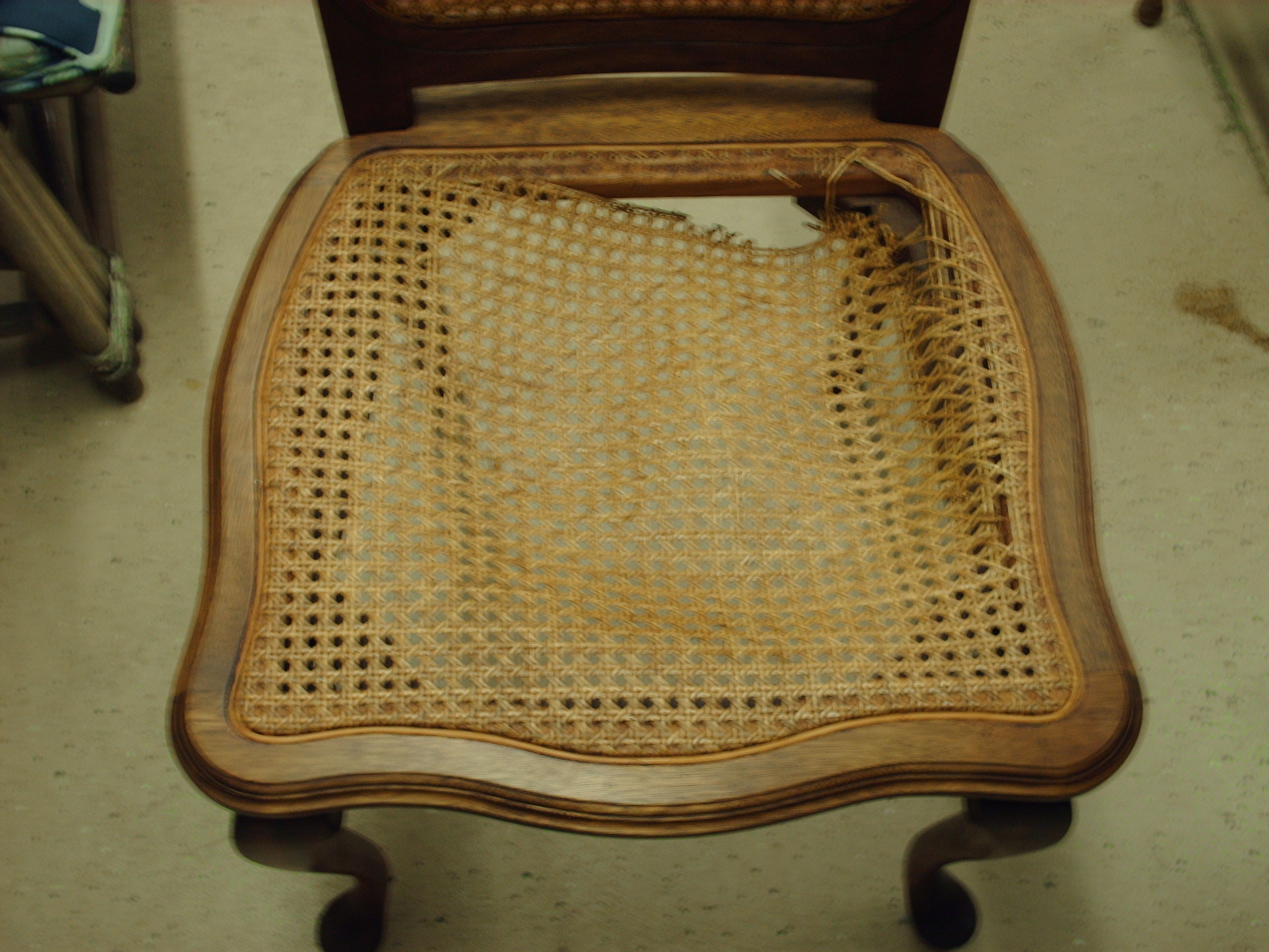 Pressed Cane And Rush Seats This Week Heritage Basket Studio