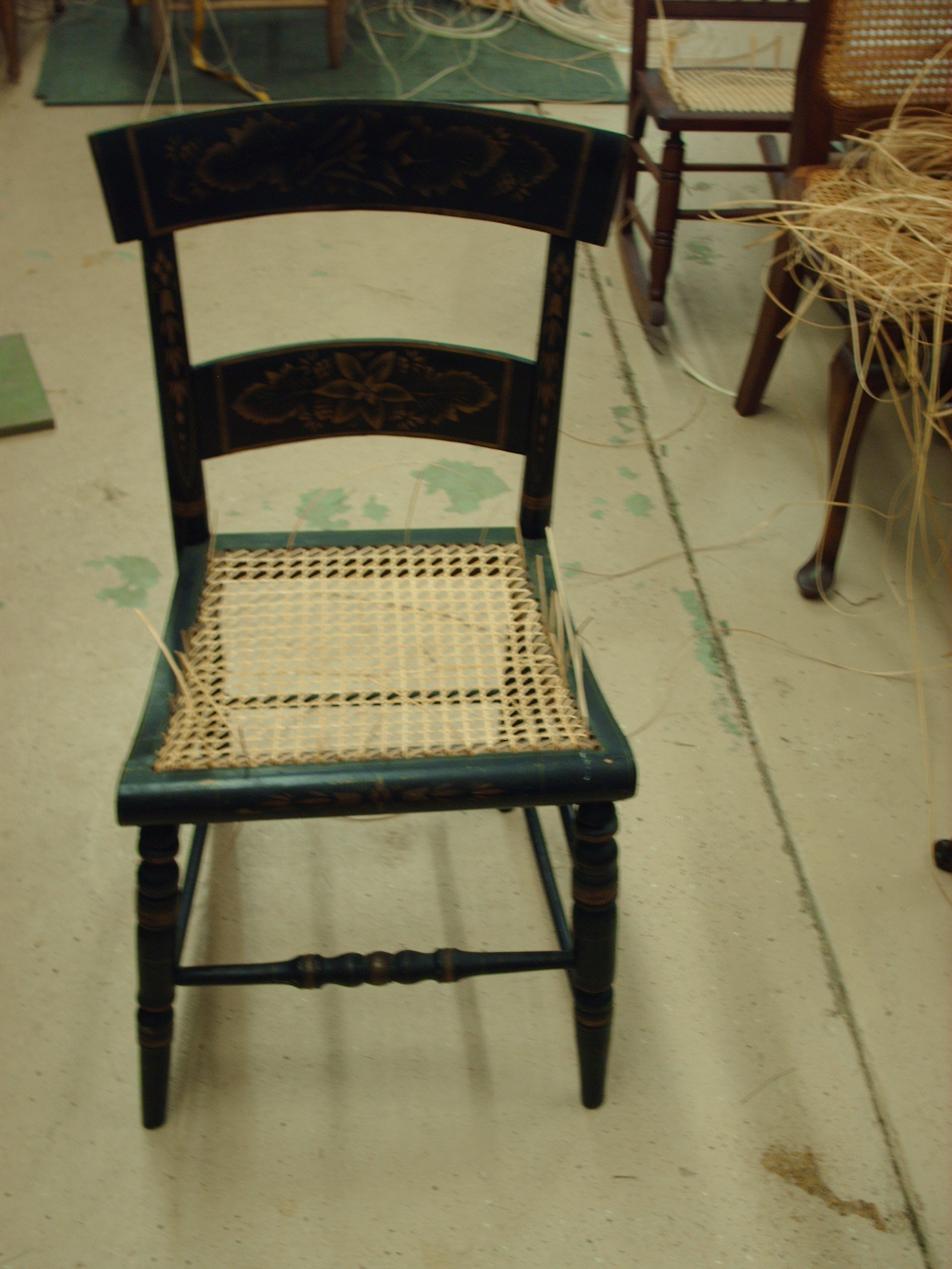 Old Chairs Regain New Life & Old Chairs Regain New Life | Heritage Basket Studio
