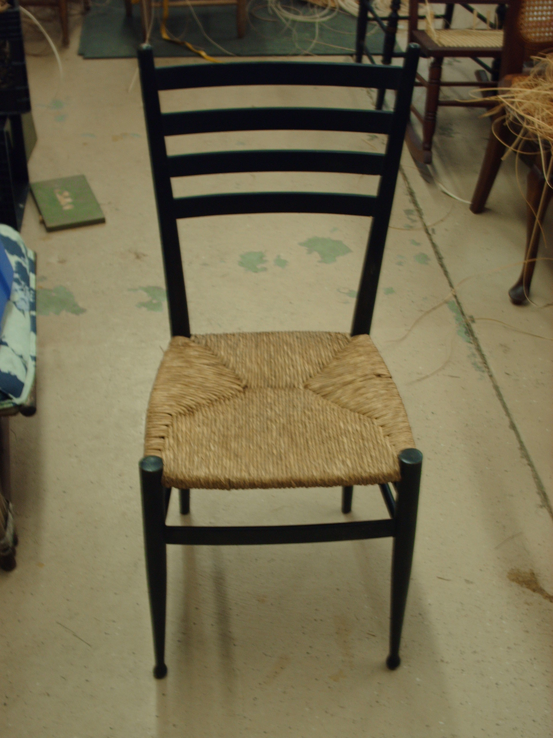 I have noticed during this depressed economy that more old chairs are coming out of basements attics and barns to regain their rightful places in the home ... & Old Chairs Regain New Life | Heritage Basket Studio