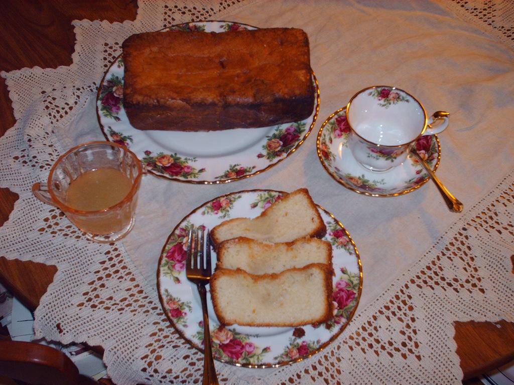 Lemon Pound Cake Clear Lemon Glaze Heritage Basket Studio