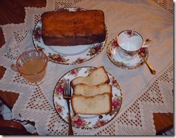 LEMON POUND CAKE–CLEAR LEMON GLAZE (4/4)