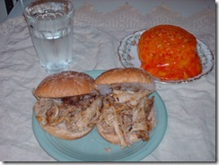 SLOW ROASTED PULLED PORK BBQ (1/6)