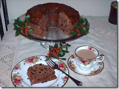 OLD FASHIONED APPLESAUCE CAKE (1/3)
