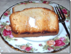 "OLD FASHIONED ""REAL"" POUND CAKE (3/3)"
