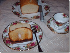 "OLD FASHIONED ""REAL"" POUND CAKE (1/3)"