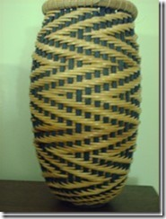 Zig Zag Twill Vase