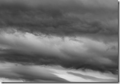 Black & White Cloudscapes (1 of 2)